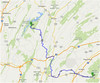 June 26: Caledonia State Park to Trough Creek State Park. 78.3 mi, 11.6 mph. Partly cloudy, breezy and pleasant.