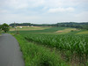 After riding to the end of Park Heights Avenue, I got onto smaller farm roads.