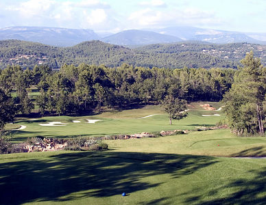 France -- Four Seasons Provence, Le Rieu golf course #18