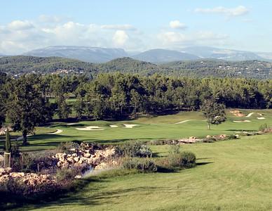 France -- Four Seasons Provence, Le Rieu golf course #18