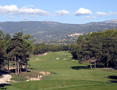 France -- Four Seasons Provence, Le Chateau golf course # 11