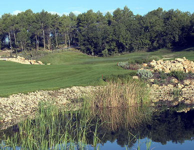 France -- Four Seasons Provence, Le Rieu golf course # 9