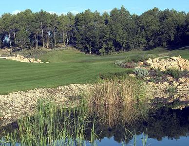 France -- Four Seasons Provence, Le Rieu golf course # 9