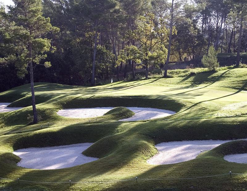 France -- Four Seasons Provence, Le Rieu golf course # 17