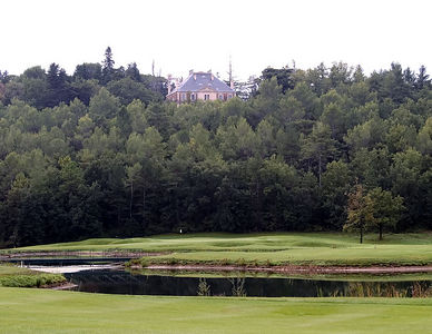 France -- Four Seasons Provence, Le Chateau golf course # 6