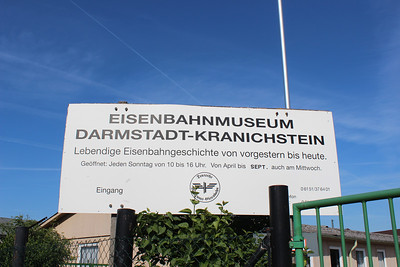 GERMANY - EISENBAHN MUSEUM - MAY 2012 -