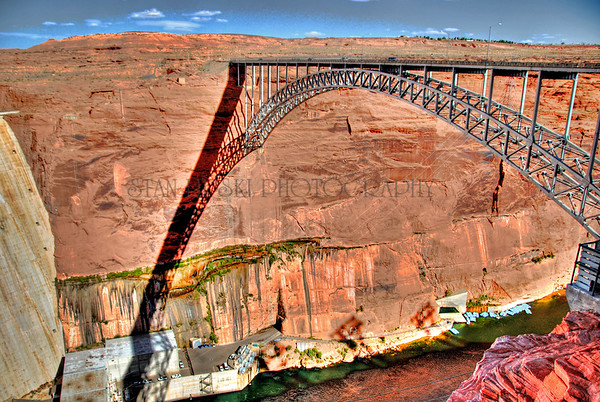 GLEN CANYON BRIDGE-GLEN CANYON NATIONAL RECREATION AREA, AZ