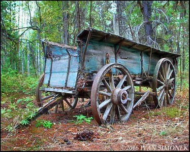 """OLD  WAGON""."