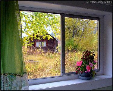 """""""COMFORT IN WILDERNESS"""", Glenora Guest Ranch, B.C., Canada-----""""POHODLI V DIVOCINE"""", Glenora Guest Ranch, B.K., Kanada."""
