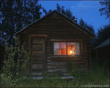 """NIGHTFALL"", Glenora Guest Ranch,B.C.,Canada-----""PRICHOD NOCI"", Glenora guest ranch,B.K.,Kanada."