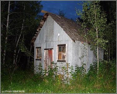"""NO FRILLS 1"",Glenora Guest Ranch,B.C.,Canada."