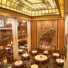 QM2: Britannia Restaurant from upper level (v)