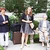 Boston: Outside NEHGS: Sherry, Ginevra and Carolyn