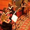 Grand Lobby: Sunrise Strings playing Bach