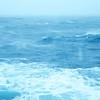 Britannia Restaurant: Waves out window