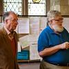 North Stoneham: St Nicholas Church: Nave: Guide Michael and Bob Anderson