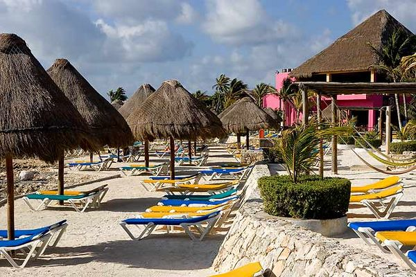 """COSTA MAYA BEACH AREA AT SHIP TERMINAL"""