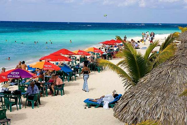 """MR. SANCHO'S BEACH IN COZUMEL, MEXICO"""