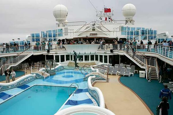 """LIDO DECK AT BON VOYAGE PARTY"""