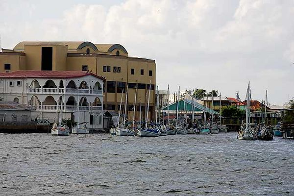"""BELIZE CITY HARBOR"""