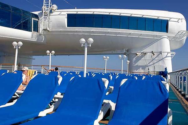 """MORE SUNNING ROOM TOWARDS THE BACK OF THE GRAND PRINCESS"""