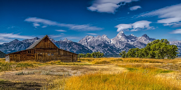 Barn on Mormon Row, Grand Tetons National Park