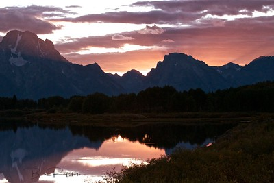 Oxbow Bend/Mt Moran - Grand Tetons National Park