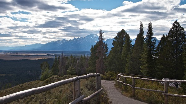 Grand Tetons from Signal Mountain