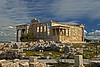 #765 Erechtheion<br /> Built for the religious rituals on the Acropolis in Athens Greece. It was started in 420 BC, but was not finished until 406 BC due to various state wars and revolts. Soon after it's completion Athens fell to the Spartans in 403 BC.