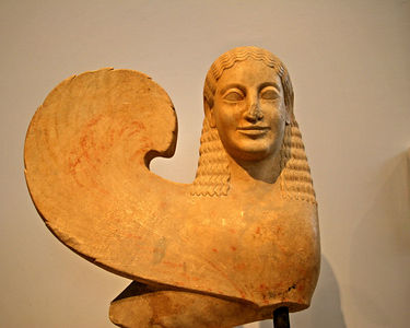 Athens -- Sphinx at the National Museum