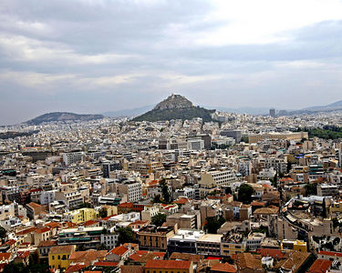 Athens -- View of the city