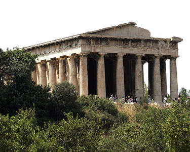 Athens -- The Temple of Hephaestus in the ancient Agora