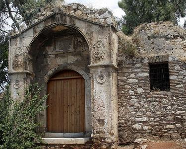 z - ruins of Greek church