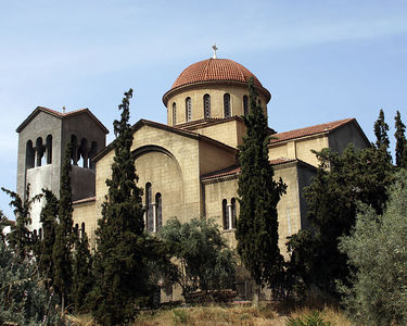 Athens -- Church in Keramikos, the cemetery of ancient Athens