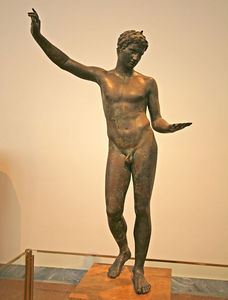 Athens - The boy from Marathon, National Archaeological Museum