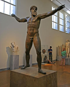 Athens -- Poseidon, National Archaeological Museum