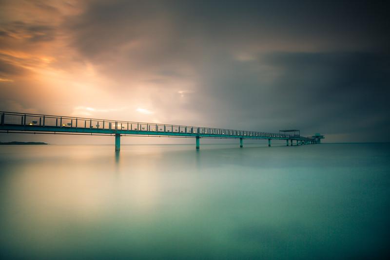 Fisheye Pier, Guam