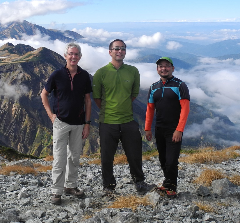 QJ guides in the North Japan Alps
