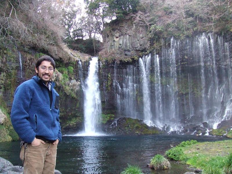 Sam at Shiraito no Taki