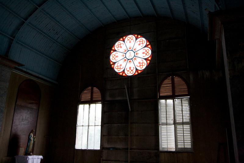 Interior of St. Anne's.