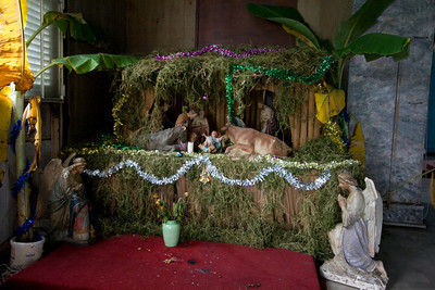 Nativity scene at the church.