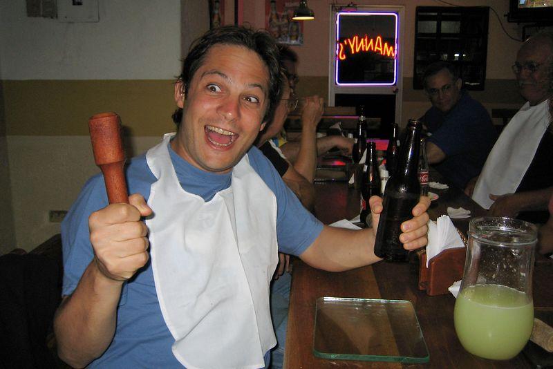 Alexis Tabah: crazy crab smasher (Galapagos - Guayaquil)