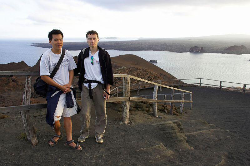 Eric Cheng and Emile Litvak (Galapagos - Bartolome)