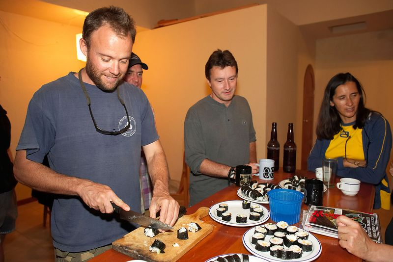 Richard Wollocombe, Paul Stewart (BBC guys) (Galapagos - Santa Cruz)