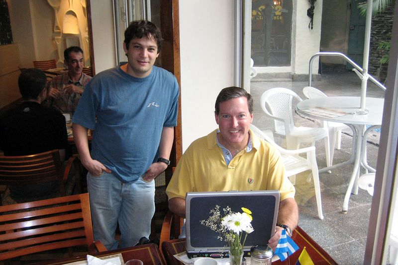 Alexis Tabah and Doug Ebersole (Galapagos - Guayaquil)