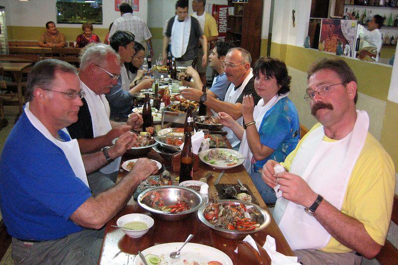 At Cangrejal Manny's (Galapagos - Guayaquil)