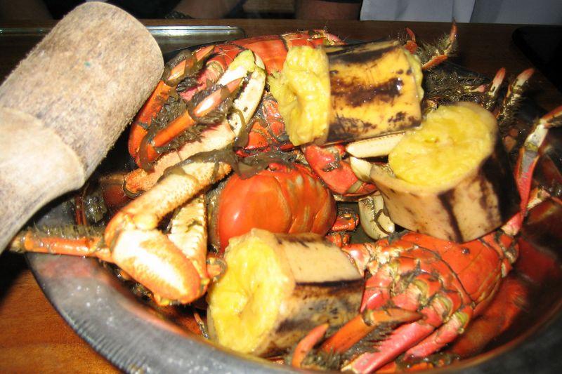 Crabs at Cangrejal Manny's (Galapagos - Guayaquil)