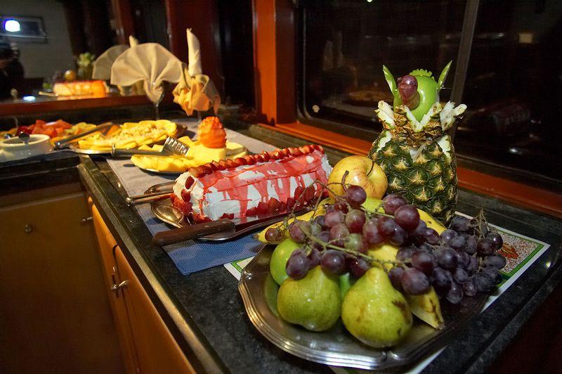 Dessert twice a day... (Galapagos - Deep Blue)