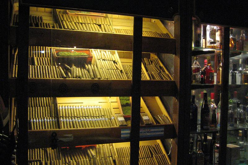 Ecuadorian cigars at a cool place we found (Galapagos - Guayaquil)