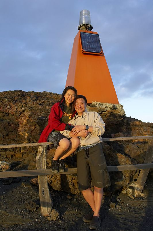 Paul and Lena (Galapagos - Bartolome)
